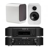 Marantz CD6006 & PM6006 UK Edition Black & QAcoustics QA3018 Speakers
