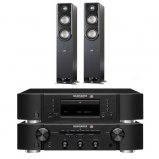 Marantz CD6006 & PM6006 UK Edition Black with Polk S50 Speaker