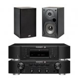 Marantz CD6006 & PM6006 UK Edition Black with Polk T15 Speaker