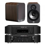Marantz CD6006 & PM6006 UK Edition Black & QAcoustics QA3022 Speakers