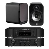 Marantz CD6006 & PM6006 UK Edition Black & QAcoustics QA3020 Speakers