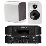 Marantz CD6006 & PM6006 UK Edition Black & QAcoustics QA3028 Speakers