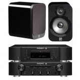 Marantz CD6006 & PM6006 UK Edition Black & QAcoustics QA3026 Speakers