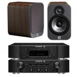 Marantz CD6006 & PM6006 UK Edition Black & QAcoustics QA3012 Speakers