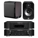 Marantz CD6006 & PM6006 UK Edition Black & QAcoustics QA3014 Speakers