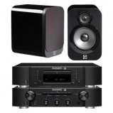 Marantz CD6006 & PM6006 UK Edition Black & QAcoustics QA3016 Speakers