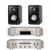 Marantz CD6006 & PM6006 UK Edition Silver with Polk S15 Speaker
