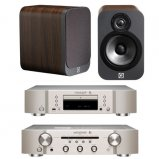Marantz CD6006 & PM6006 UK Edition Silver & QAcoustics QA3022 Speakers