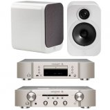 Marantz CD6006 & PM6006 UK Edition Silver & QAcoustics QA3028 Speakers