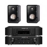 Marantz CD6006 & PM6006 UK Edition Black with Polk S15 Speaker