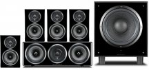 Wharfedale Diamond 11-HCP 5.1 Home Cinema Package in Black
