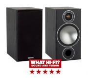 Monitor Audio Bronze 2 Bookshelf Speakers in Black Oak