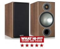 Monitor Audio Bronze 2 Bookshelf Speakers in Walnut