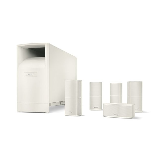 Bose Acoustimass 10 Series V Home Cinema Speaker System in White