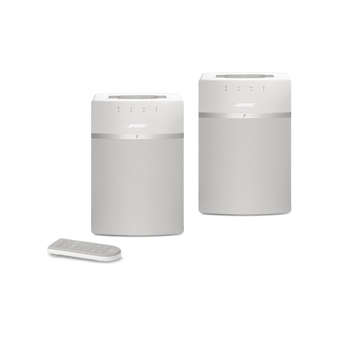 Bose® SoundTouch® 10 Wireless Speaker Twin Pack in White