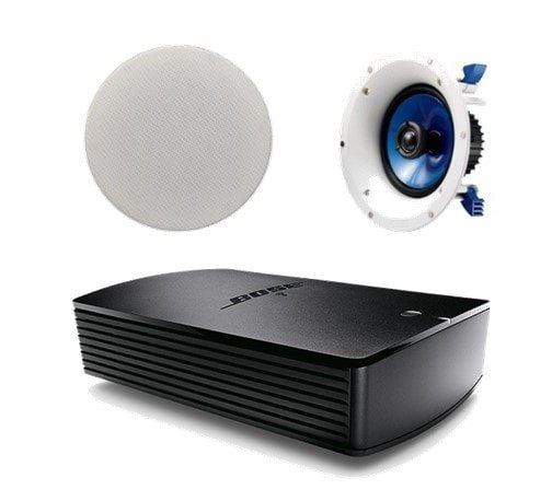 Bose® SoundTouch® SA-5 Amplifier with 1 Pair of Yamaha NSIC600 In-Ceiling Speakers