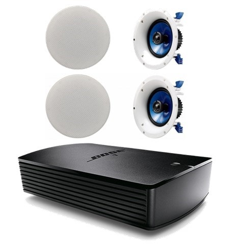 Bose® SoundTouch® SA-5 Amplifier with 2 Pair of Yamaha NSIC600 In-Ceiling Speakers