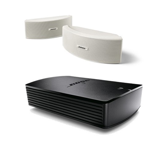 Bose® SoundTouch® SA-5 Amplifier with Bose® 151® Environmental Speakers in White