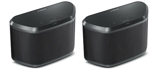 Image of Yamaha MusicCast TWIN30 2 x WX30 Wireless Speakers with Airplay and Bluetooth - Black