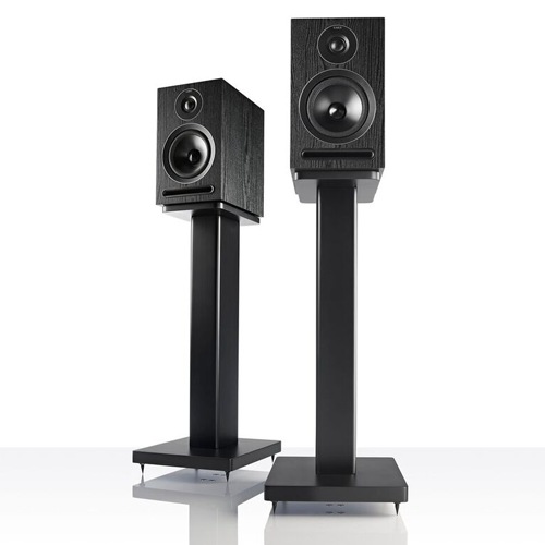 Stockists of Acoustic Energy AE101B 1 Series Stand-Mount Loudspeakers - Black Ash