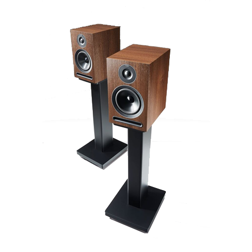 Stockists of Acoustic Energy AE101W 1 Series Stand-Mount Loudspeakers - Walnut