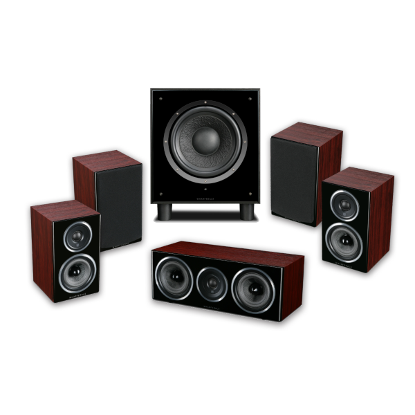 Image of Wharfedale Diamond 11 HCP 5.1 Home Cinema Package in Rosewood