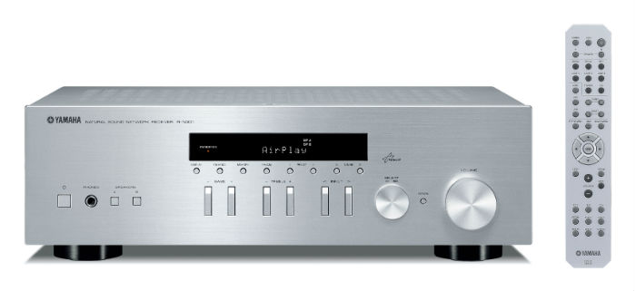 Yamaha RN301S Network Receiver with AirPlay compatibility in Silver