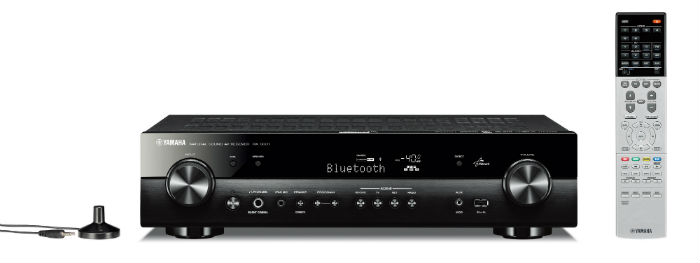 Yamaha RXS601B Slim and compact 5.1-channel Network AV Receiver in Black