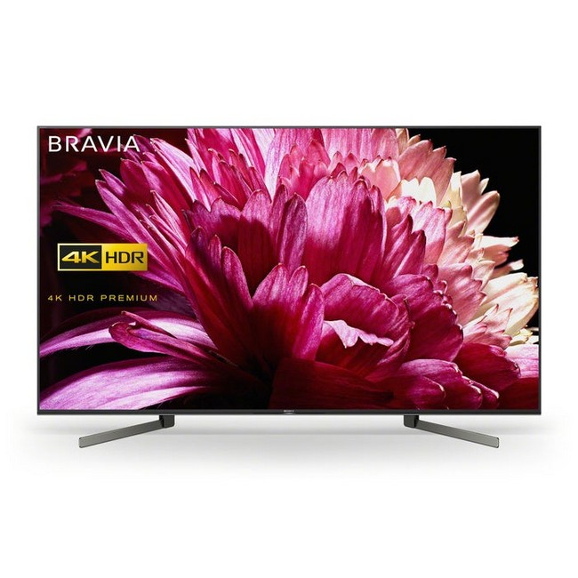 Sony BRAVIA KD75XG9505BU 75 inch 4K Ultra HD HDR Smart LED Android TV - front