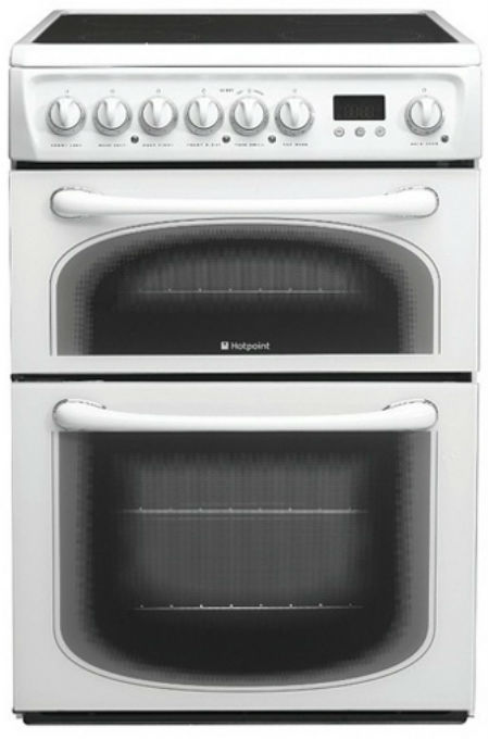 Hotpoint 60HEPS 60cm Wide Freestanding Electric Cooker in Polar White