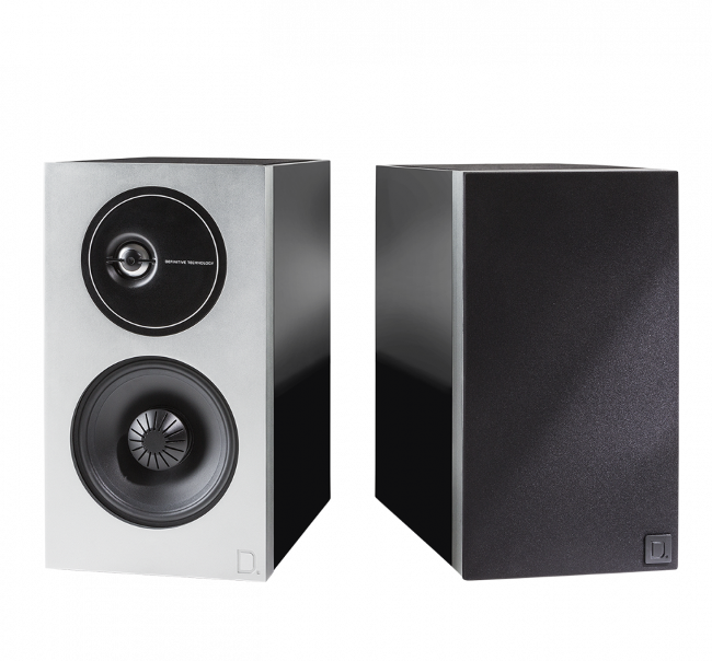 Definitive Technology Demand Series D9 High-Performance Bookshelf Speakers Pair in Piano Black