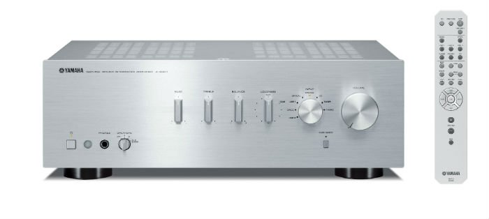 Yamaha AS301S Integrated Amplifier in Silver
