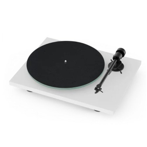 Project T1 Standard Turntable In White Main