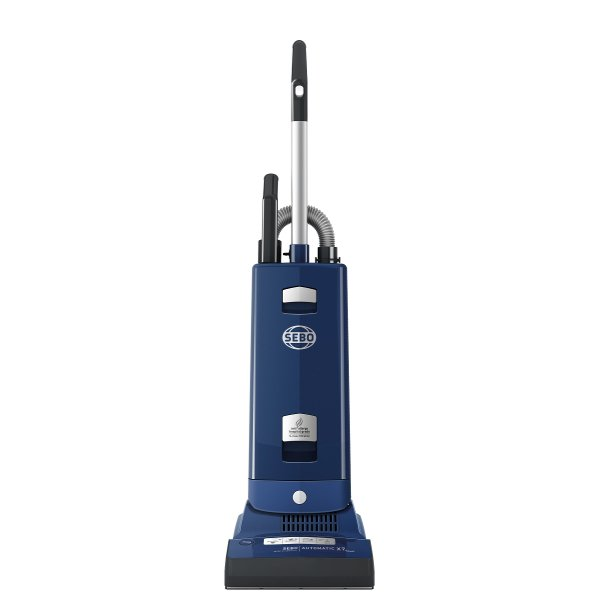 Sebo 91506GB Automatic X7 Extra ePower Vacuum Cleaner in Dark Blue with Free 5 Year Guarantee