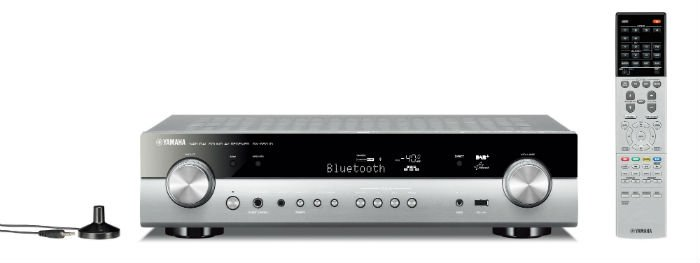 Yamaha RXS601DB Slim and compact 5.1-channel Network AV Receiver in Titanium