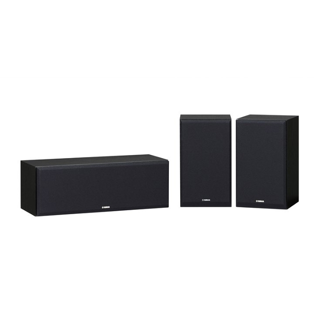 Yamaha NSP350 Centre and Surround Speaker Package in Black