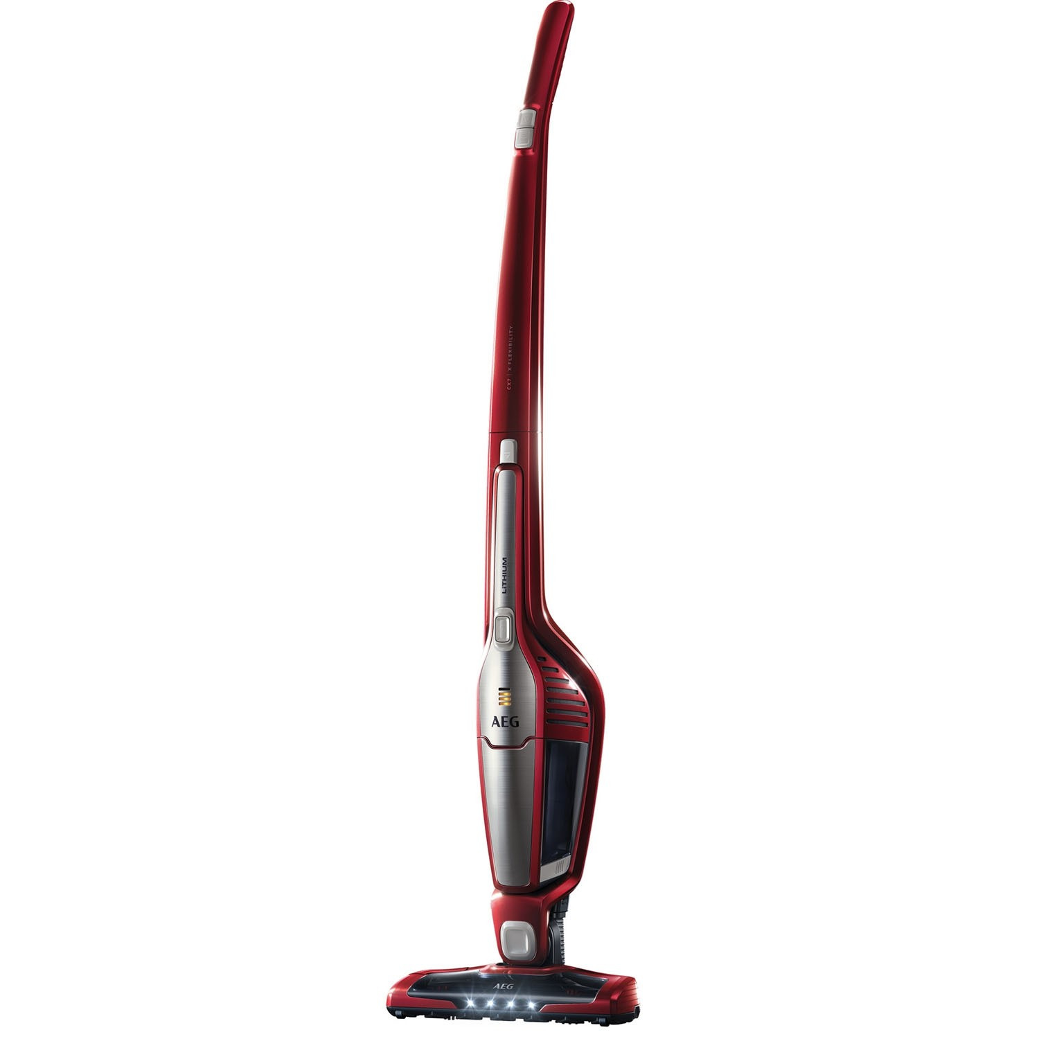 AEG CX7-2-35WR Cordless Vacuum Cleaner in Watermelon Red