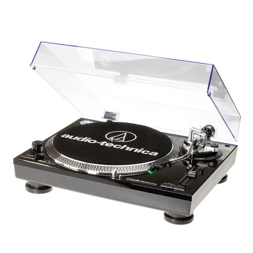 Image of Audio Technica AT-LP120USBHCBBK Professional Direct-Drive Turntable in Black