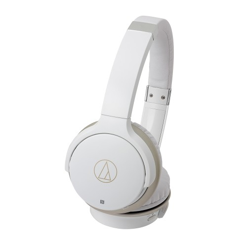 Audio Technica ATH-AR3BTWH Wireless On-Ear Headphones in White