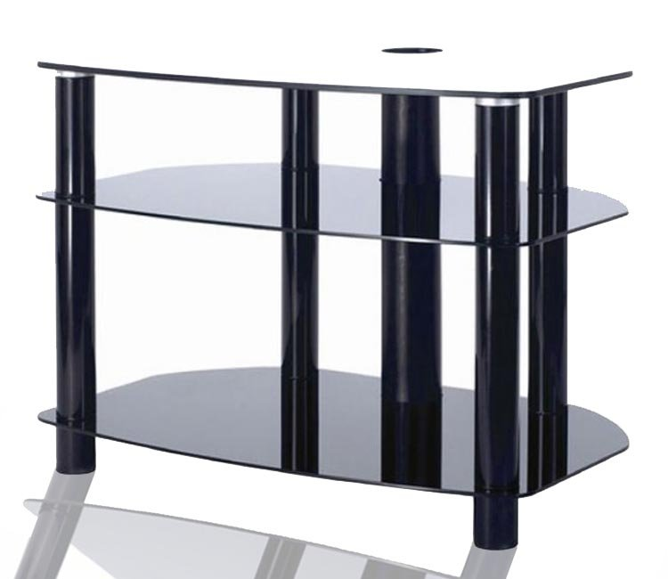 Alphason AVCR503 Universal Table Stand in Black for Screens up to 50''