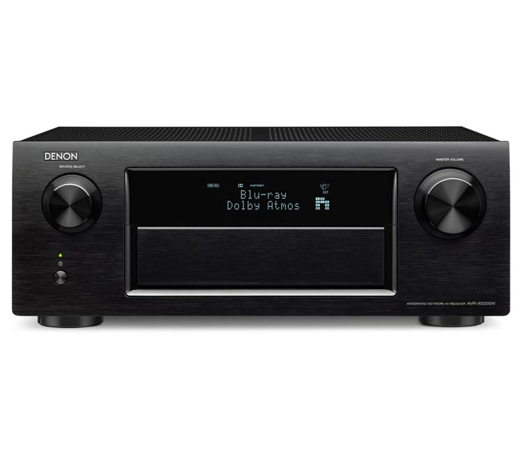 Denon AVRX5200W 9.2CH Network Receiver With Bluetooth Airplay Spotify And 4K In Black