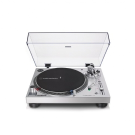 Image of Audio Technica AT-LP120XUSB Manual Direct Drive Turntable (Analogue & USB) Silver - Open Box - 5198200834