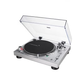 Image of Audio Technica AT-LP120XUSB Manual Direct Drive Turntable (Analogue & USB) Silver - Open Box - 5198200048