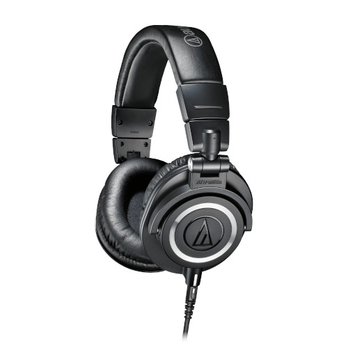 Audio Technica ATHM50x Professional Monitor Wired Headphones