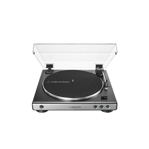 Audio Technica ATLP60XUSB Fully Automatic Belt Drive Turntable Analog USB Side View