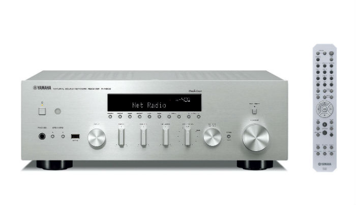 Yamaha RN602S Network HiFi Receiver in Silver