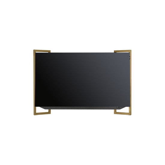 Loewe Bild 9.55 4K Ultra HD OLED Television with Wall Mount in Amber Gold