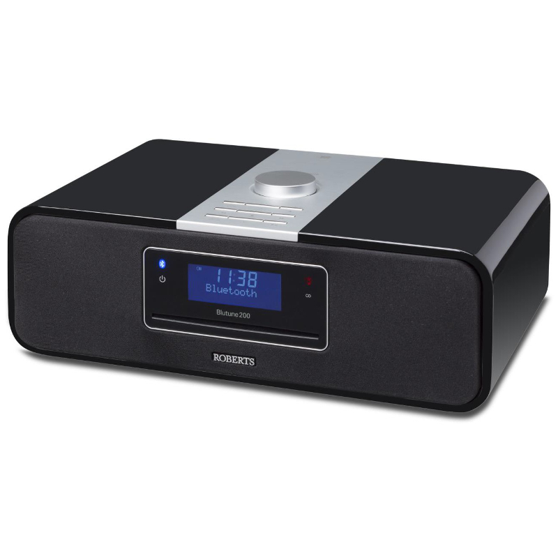 Image of Roberts BLUTUNE 200 Bluetooth CD Sound System in Black