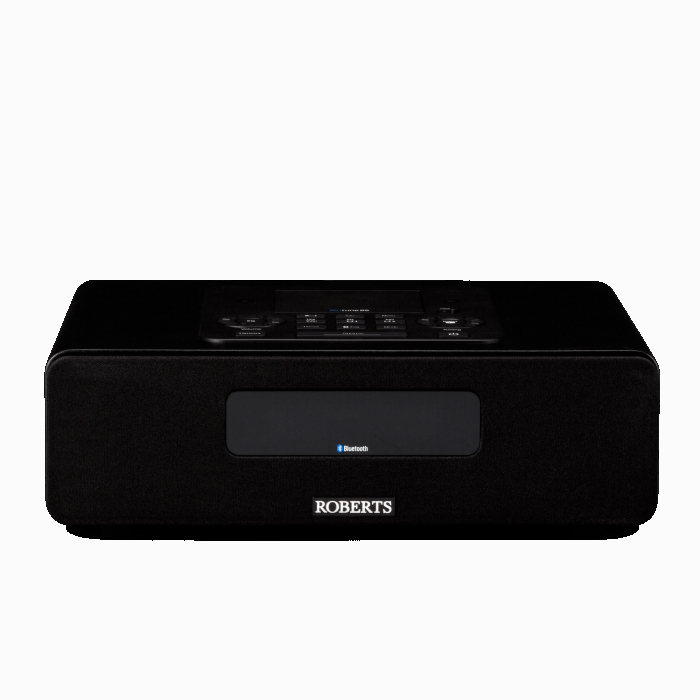 Image of Roberts BLUTUNE 65 Bluetooth Sound System in Black with Dock