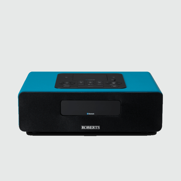 Image of Roberts BLUTUNE 65 Bluetooth Sound System in Marine Teal with Dock